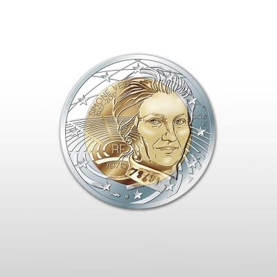 FRANCIA - 2 EURO, SIMON VEIL