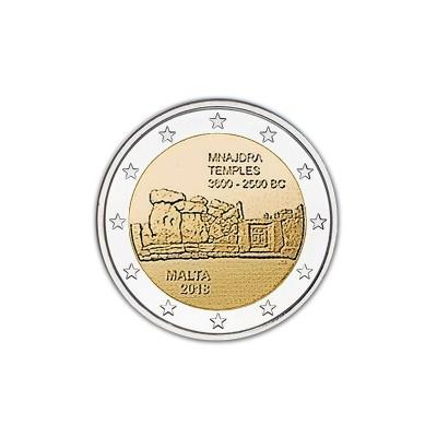 MALTA - 2 EURO, TEMPIO DI...