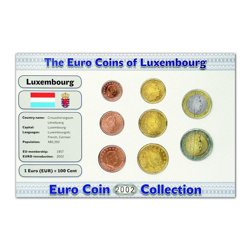 9fdec2183c Lussemburgo - Euro Divisionali: monete e scheda informativa Paese