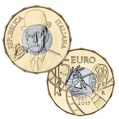 ITALIA - 5 EURO DI TOTÒ