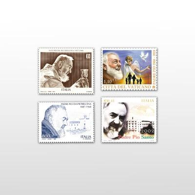 Francobolli di Padre Pio