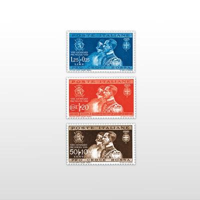1930 - NozzePO 391/393 - 3 valori