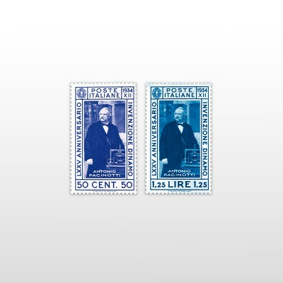 1934 - PacinottiPO 476/477 - 2 valori