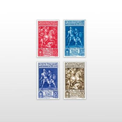 1941 - Tito LivioPO 580/583 - 4 valori