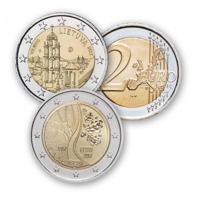 I 2 EURO DEI PAESI BALTICI