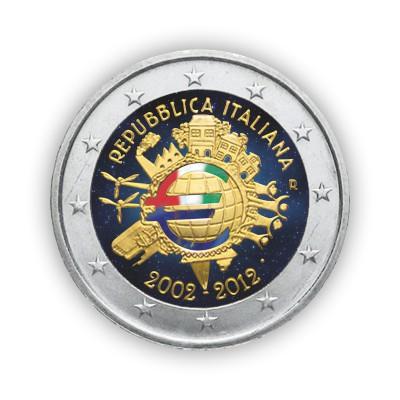 2 EURO COLORATI - L'ITALIA...