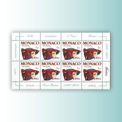 """MONACO - IL FOGLIETTO """"ENZO..."""