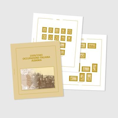 GRATIS i fogli d'album con taschine e schede descrittive del valore di listino di  € 22,50