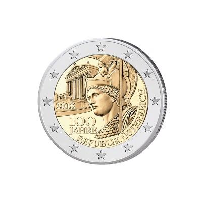 AUSTRIA - 2 EURO, 100°...