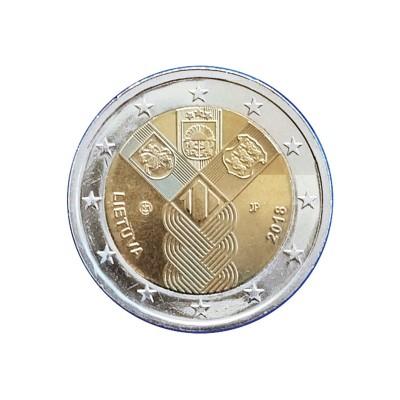 LITUANIA - 2 EURO, 100°...