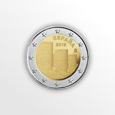 SPAGNA - 2 EURO 2019,...