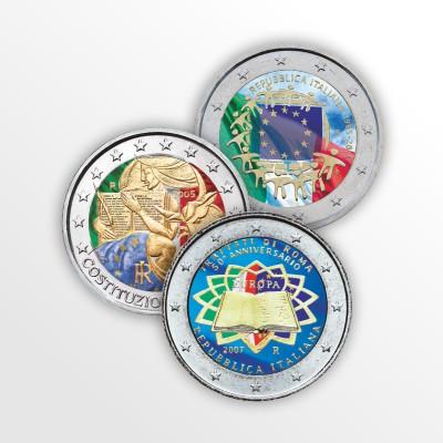 ITALIA - TRE MONETE...