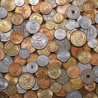 100 GRAMMI DI MONETE