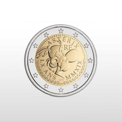 FRANCIA - 2 EURO 2019, 60°...