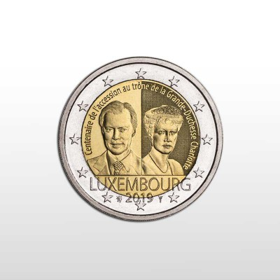 LUSSEMBURGO - 2 EURO 2019,...