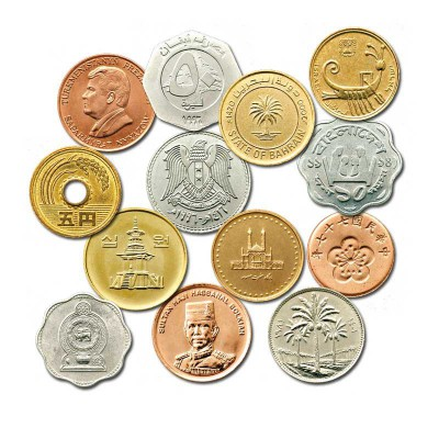 50 MONETE D'ORIENTE