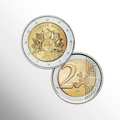 LETTONIA - 2 EURO...