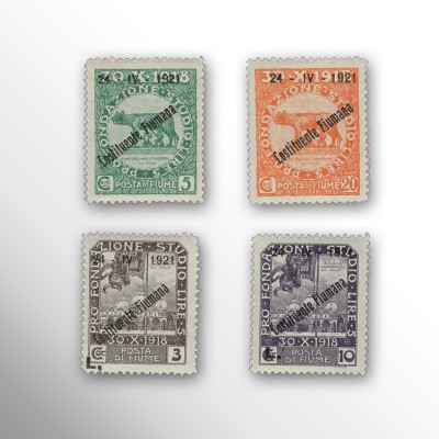 "FIUME - SOPR. ""24 IV 1921 -..."