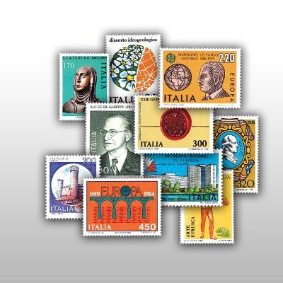 ITALIA - I FRANCOBOLLI DAL...