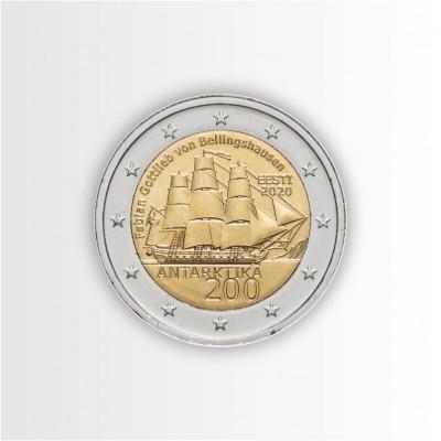 ESTONIA - 2 EURO 2020, 200°...
