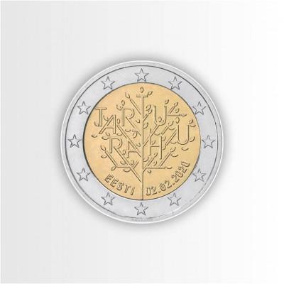 ESTONIA - 2 EURO 2020, 100°...