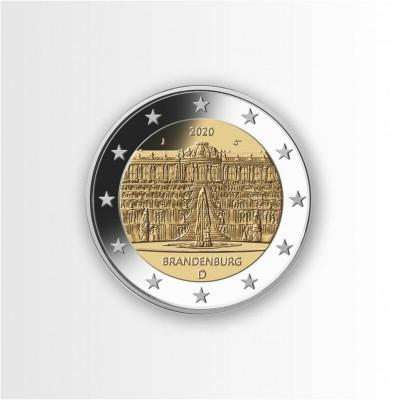 GERMANIA - 2 EURO 2020,...