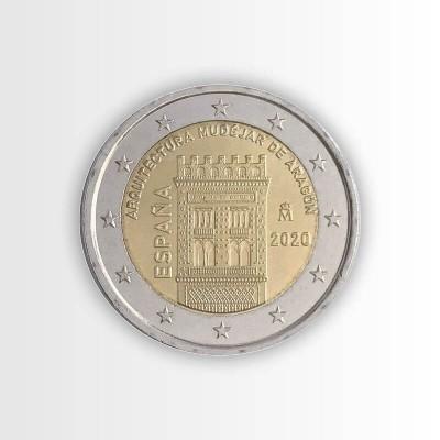 SPAGNA - 2 EURO 2020,...