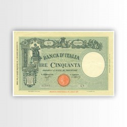 ITALIA - BANCONOTA 50 LIRE...