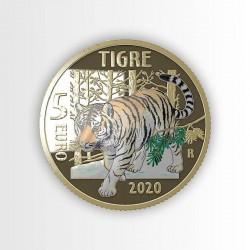 ITALIA - 5 EURO 2020, TIGRE...