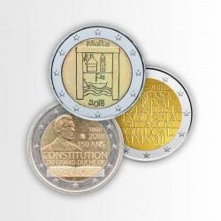 EUROTESORO 2018 - 3 MONETE...