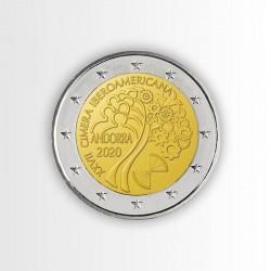 ANDORRA - 2 EURO 2020,...