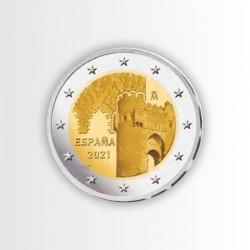 SPAGNA - 2 EURO 2021,...