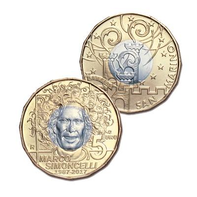 SAN MARINO - 5 EURO DI...